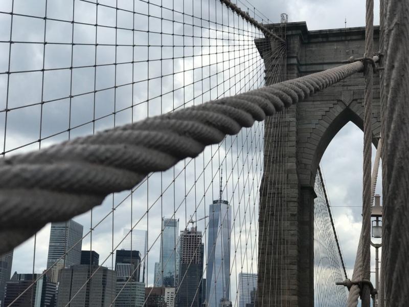 Nueva York. Puente Broocklyn
