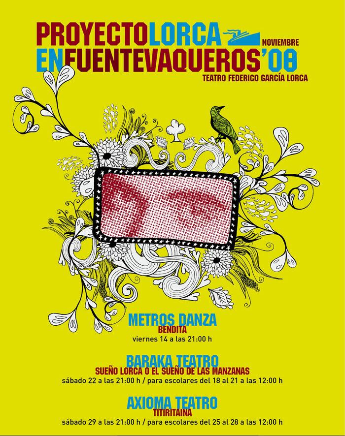 Cartel Lorca en Fuentevaqueros
